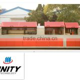 Trinity High Quality PVC/PE/WPC Plastic Extrusion Window and door Production Line Factory Direct China Supplier