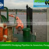 Wear Resistant HDPE Cutter Suction Dredger Pipes