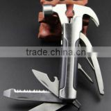 Stainless steel Multifunction hammer / Car Emergency Safety Escape claw hammer / Window Breaker / Multifunction outdoor tools