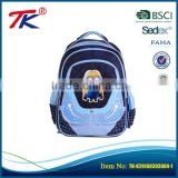 Top selling items cartoon printing soft thick shoulder strap children backpack student school bag