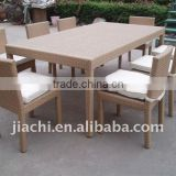 bamboo and rattan furniture outdoor dining table(JT-6003)