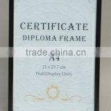 Wholesale cheap PVC stand plastic certificate poster photo picture frame