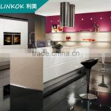 Customized Size Modern Design Australia project MDF factory directly melamine fitted kitchen cabinet