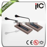 ITC TS-0623 Series Embedded Conference Table Microphone with Vote Function