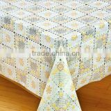vinyl lace table cloth animal print table cloth