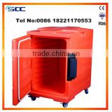 Meal Delivery Cart with wheels hot food trolley insulated cabinet                                                                         Quality Choice