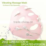 Vibrating massage v shape lifting slim face lift mask                                                                         Quality Choice