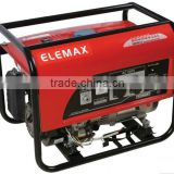 Factory direct 5kw/5kva Elemax portable gasoline generatordiesel generator set GX390 honda engine 13hp electric start