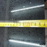 mirror black quartz stone , artificial quartz slabs for floor tiles