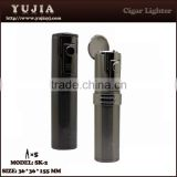 Smoking accessories custom products lighter table cigar lighter With cigar cutter /punch