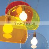 Hot handmade large plexiglass acrylic dome plastic light covers