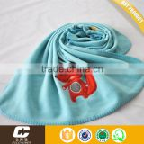 SGS Testing China Manufacture Wholesale Fleece blanket 2 Layers Blanket Rose Minky Baby Blanket