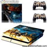 Game decal skin sticker cover for PS4 playstation 4 controller console skins