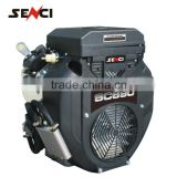 Senci v-twin gasoline engine two cylinder horizontal shaft engine