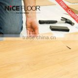 outdoor hdf waterproof german ac3 8mm V-groove edge e1 wooden Laminate Flooring made in china