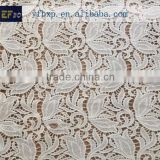 100 cotton materials chemical lace embroidery fabric/ swiss organic cotton lace fabric/ african cupion laces for Italy dress                                                                         Quality Choice