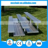 MC-3F Mingchuan popular aluminum stand used indoor folding bleachers for sale                                                                         Quality Choice