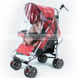 High quality PEVA Baby Strollers Rain Cover/Waterproof PVC Baby Carriages/foldable baby carriage