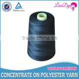 China wholesale polyester sewing thread black