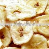 VF dried banana chips, 100% Natural healthy food for sale