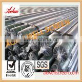 Factory Direct To Get High Quality Stainless Steel Wedge Wire Cylinder Screen For Gravel filter