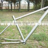 Gr.9 Titanium Bicycle Frame 29er wheels Tapered Headtube/Special Dropouts