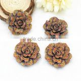 New arrival flat back resin flowers DIY resin cabochons accessories