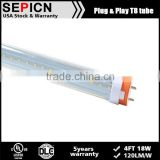 4FT 13W G13/FA8/R17D ETL cETL DLC Type A+B T8 LED Tube Lights