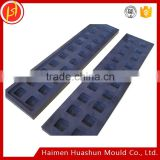 High pure graphite mold castings for gold ingot bars