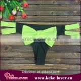 A31 New design women fashion sexy lingerie hollow out bow women pants women sexy G-string
