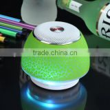 Wireless Speaker with Colorful LED Lights ,Rechargeable Battery,TF Card Slot,Wireless for Bluetooth Device,Party,Picnic,Outdoor