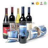 Led wine bottle shrink sticker