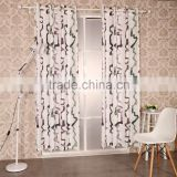 New American Curtain Design Polyester Printed Curtain Panel elegant drapes