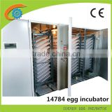 Full automatic broiler hatching eggs /15000 chicken egg hatching machine price for sale