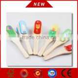 2015 New wooden castanets, popular Baby Rattle castanets and wooden castanets with VC-A352