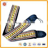 Chinese style colorful guitar strap guitar shoulder strap for musical instrument accessories