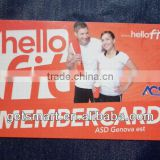 Large Inventory CMYK Offset Printing Promotional Branded Custom Membership Card Accept Customized Design