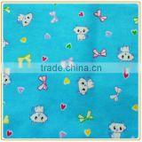 Printed Cotton Flannel Fabric for Babywear