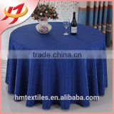 Fancy polyester brocade jacquard table cloth for wedding, home, hotel and party decoration