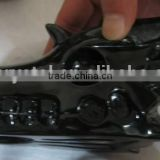 Wholesale black obsidian semi precious stone dragon skull craved crystal skull for crafts