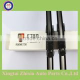 ZX type soft rubber top quality windshieldwiper blades