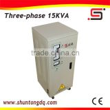 China Manufacturer SVC 15kva 3 phase ac servo motors automatic refrigerator voltage stabilizer
