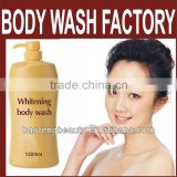 Body Wash Liquid Body Wash Rose Body Wash design OEM lightening liquid soap china shower cream factory cheap price whitening