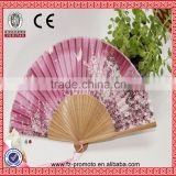 Quality Products Best-Selling Wholesale Women's Bamboo Cloth Hand Fan