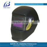 HX-TN01 Hot sale industrial helmet with face shield auto darkening welding helmet,welding face shield with china supplier