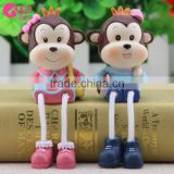 Monkey monkey doll hanging new gifts resin gifts festive ornaments trumpet