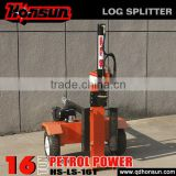 American standard CE approved Honda GX200 gas engine powered 16 tonne wood splitter with engine