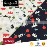 Custom Japan and South Korea Cartoon Digital Printed Cotton Poplin Fabric