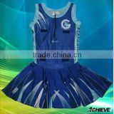 sublimated newest style club netball uniforms