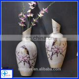 Home or Office Resin Vase decoration on Wall